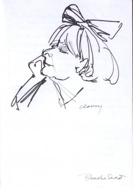 Blanche Sweet, Illustration 30 in the book Sketchbook (Western Film Conference)