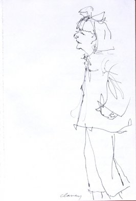 Untitled (Blanche Sweet), Illustration 33 in the book Sketchbook (Western Film Conference)