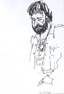 Jim Kitses, Illustration 47 in the book Sketchbook (Western Film Conference)