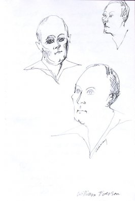 William Everson, Illustration 49 in the book Sketchbook (Western Film Conference)
