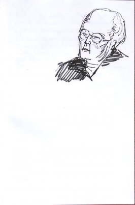 Untitled (Portrait), Illustration 60 in the book Sketchbook (Western Film Conference)