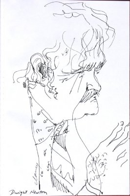 Dwight Newton, Illustration 61 in the book Sketchbook (Western Film Conference)