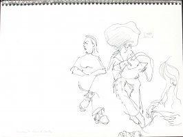 Women's Health Center, Illustration 6 in the book Sketchbook (Pacific Medical Center Clinic, I)