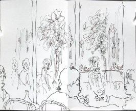 La Coupole, Illustration 5 in the book Journal (Paris and Amsterdam)