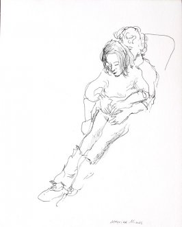 Married Mimes, Illustration 15 in the book Sketchbook (Conservatory of Mime)