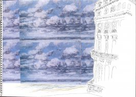 Untitled (Trouville), Illustration 2 in the book Sketchbook (Trouville, III)
