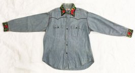 Man's embroidered shirt