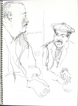 Untitled (Please Enter), Illustration 29 in the book Sketchbook (Pacific Medical Center Clinic, I)
