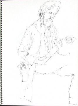 Untitled (Doctor), Illustration 33 in the book Sketchbook (Pacific Medical Center Clinic, I)