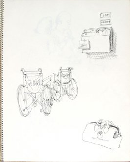 Untitled (Clinic sketches), Illustration 19 in the book Sketchbook (Pacific Medical Center Clinic, II)