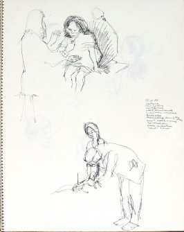 Untitled (Consultation), Illustration 26 in the book Sketchbook (Pacific Medical Center Clinic, II)
