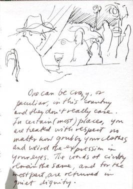 Untitled (Bar), Illustration 2 in the book Journal (Strasbourg and Venice)