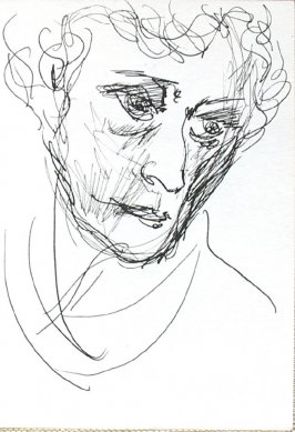 Untitled (Head), Illustration 12 in the book Journal (Strasbourg and Venice)