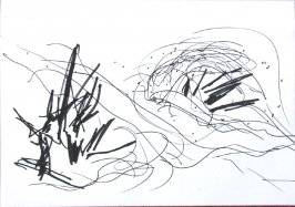 Untitled (Landscape), Illustration 16 in the book Sketchbook (Sun Valley, Idaho)