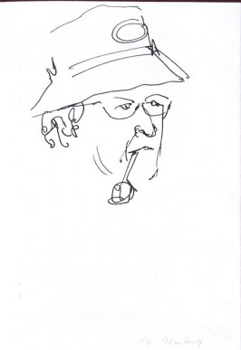 Sy Gomberg, Illustration 25 in the book Sketchbook (Sun Valley, Idaho)