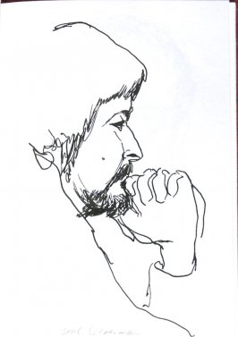 Hal Silverman, Illustration 34 in the book Sketchbook (Sun Valley, Idaho)