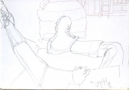Untitled (At the Ahwahnee), Illustration 6 in the book Sketchbook (Cheyenne, Wyoming)