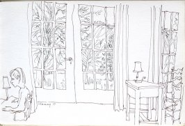 Untitled (The Ahwahnee), Illustration 8 in the book Sketchbook (Cheyenne, Wyoming)