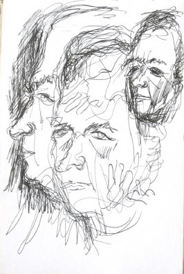 Untitled (Portrait), Illustration 22 in the book Sketchbook (Cheyenne, Wyoming)