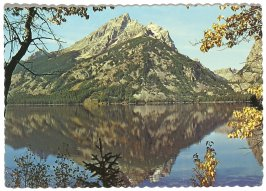 Jenny Lake (postcard), Illustration 24 in the book Sketchbook (Cheyenne, Wyoming)