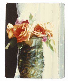 Untitled (Vase with roses), Illustration 46 in the book Sketchbook (Cheyenne, Wyoming)