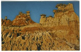 Hell's Half Acre, Wyoming, Illustration 50 in the book Sketchbook (Cheyenne, Wyoming)