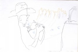 Casper, Wyoming, Illustration 51 in the book Sketchbook (Cheyenne, Wyoming)