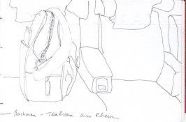 Untitled (Travel bag), Illustration 12 in the book Sketchbook (Holland)