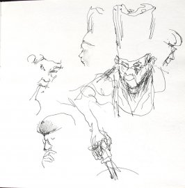 Untitled (Josephine Araldo), Illustration 3 in the book Sketchbook (St. Helena)