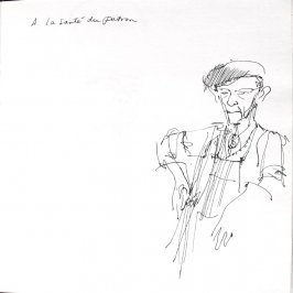 A La Santé Du Patron, Illustration 5 in the book Sketchbook (St. Helena)