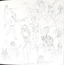 The Barrault Company, Illustration 19 in the book Sketchbook (St. Helena)