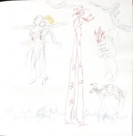 Ringling, Barnum and Bailey Circus, Illustration 23 in the book Sketchbook (St. Helena)