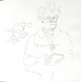 Marietta Voorhees, Illustration 25 in the book Sketchbook (St. Helena)