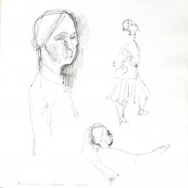 Anna Sokolow, Illustration 49 in the book Sketchbook (St. Helena)