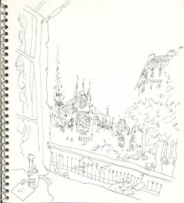 Untitled (Paris), Illustration 1 in the book Sketchbook (Europe and United States)