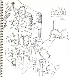 Untitled (Paris), Illustration 2 in the book Sketchbook (Europe and United States)