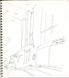 Untitled (Judith Clancy's New York), Illustration 5 in the book Sketchbook (Europe and United States)