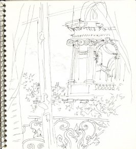 Untitled (Window), Illustration 12 in the book Sketchbook (Europe and United States)