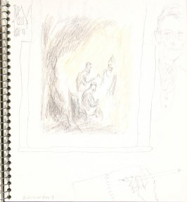 Looking at Box 3, Illustration 21 in the book Sketchbook (Europe and United States)