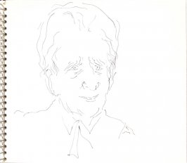 Untitled (Commandant Paul Louis Weiller), Illustration 19 in the book Sketchbook (Sylvia)