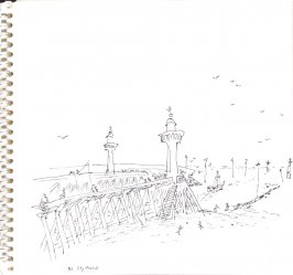 Untitled (Trouville), Illustration 3 in the book Sketchbook (Trouville, I)