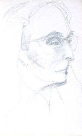 Rebecca Soyer, Illustration 5 in the book Sketchbook (Portraits)