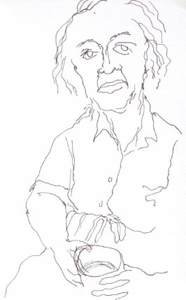 Mama, Illustration 21 in the book Sketchbook (Portraits)