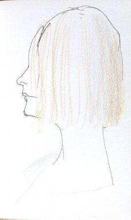Caroline Hightower, Illustration 39 in the book Sketchbook (Portraits)