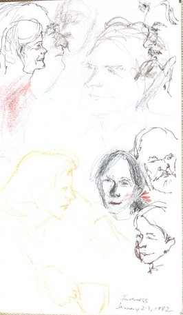 Inverness, Illustration 40 in the book Sketchbook (Portraits)
