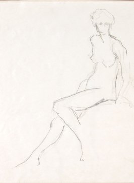 Untitled (Nude), Illustration 2 in the book Sketchbook (Life drawing class)