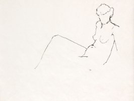 Untitled (Nude), Illustration 4 in the book Sketchbook (Life drawing class)