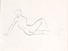 Untitled (Nude), Illustration 9 in the book Sketchbook (Life drawing class)