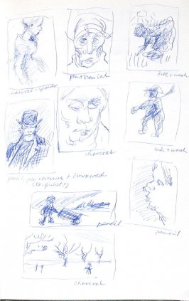 Untitled (After Van Gogh), Illustration 3 in the book Journal (Importance of Drawing, II)