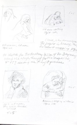 Untitled (After Rembrandt), Illustration 4 in the book Journal (Importance of Drawing, II)